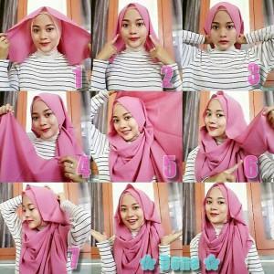 Hijab Pashmina Sifon Simple Anggun untuk Acara Formal