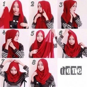 Hijab Pashmina Sifon Simple Hang Out