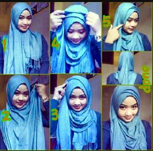Hijab Pashmina Simpel Cantik
