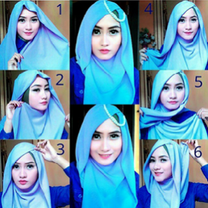 Hijab Pesta Pashmina Glamour