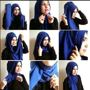 Hijab Pesta Paashmina Simple Anggun