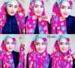 15 Tutorial Hijab untuk Pipi Tembem Terbaru dan Simple