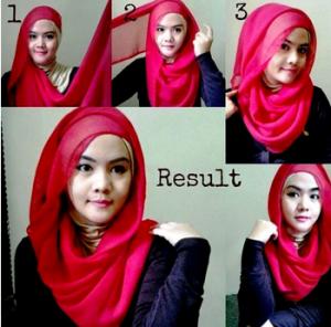 Hijab Segi Empat Paris Cantik dan Anggun