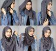 10 Tutorial Hijab untuk Wajah Lonjong Kekinian dan Simple