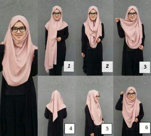 Hijab Panjang Anggun
