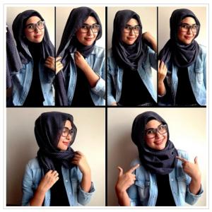Hijab Dililit