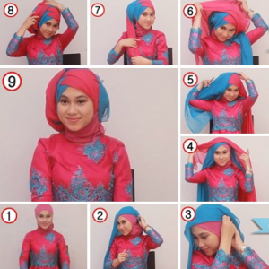 Hijab ber-Layer