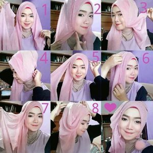 15 Tutorial Hijab untuk Lebaran Terbaru dan Simple