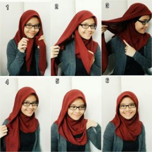 Hijab Elegan Simple