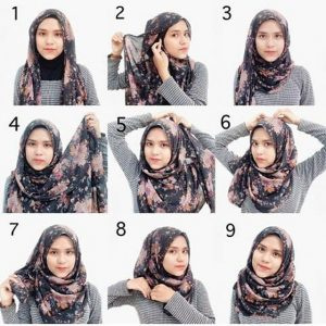 Pashmina Floral Simple