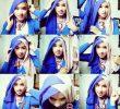 15 Tutorial Hijab Dua Warna Simple Terbaru