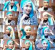 15 Tutorial Hijab Segi Empat Dua Warna untuk Wisuda Terbaru