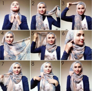 Hijab santai buat hang out