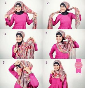 12 Tutorial Hijab Zaskia Sungkar Simple dan Terbaru