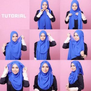 tutorial hijab casual 7