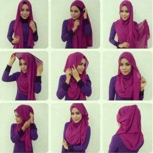 tutorial hijab casual 6