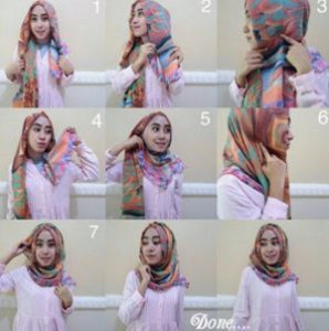 tutorial hijab casual 1