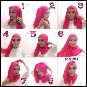 Hijab Pashmina Siffon Simple dan Elegan