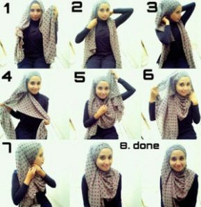 tutorial hijab lebaran 6