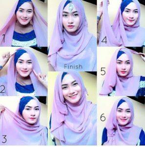 tutorial hijab lebaran 3