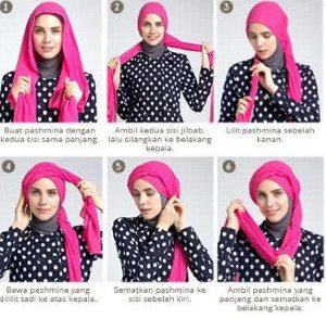 tutorial hijab lebaran 2