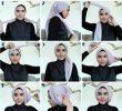 36 Tutorial Hijab Lebaran Segi Empat Terbaru dan Kekinian