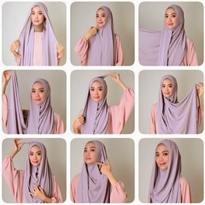 Hijab Pashmina Panjang Simple
