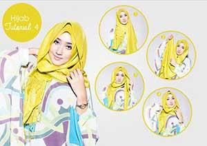 23 Tutorial Hijab Lebaran Dian Pelangi Pashmina, Segi Empat Terbaru