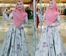 tutorial hijab ala ria ricis 15