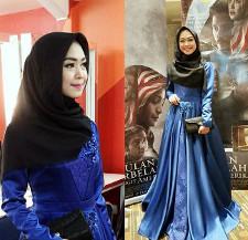 tutorial hijab ala ria ricis 16
