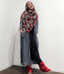 tutorial hijab ala ria ricis 19