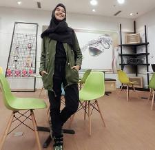 tutorial hijab ala ria ricis 20