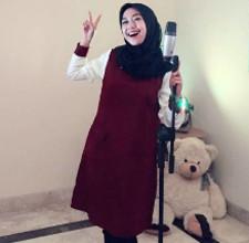 tutorial hijab ala ria ricis 11
