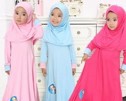 tutorial hijab wisuda anak tk 10