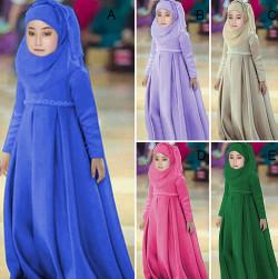 tutorial hijab wisuda anak tk 9