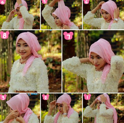 tutorial hijab simple kebaya 7