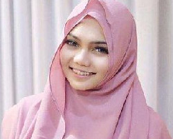 tutorial hijab ala rina nose 4