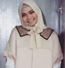 tutorial hijab ala rina nose 2
