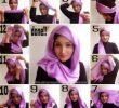16 Tutorial Hijab Arabian Segi Empat Style dan Kekinian