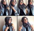 30 Tutorial Hijab Segi Empat Berkacamata yang Kekinian