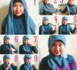 30 Tutorial Hijab Pesta untuk Wajah Bulat Anggun dan Kekinian