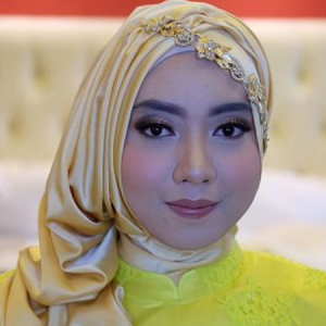 Hijab Pashmina Satin Glamour
