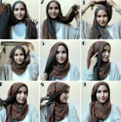 tutorial hijab ala zaskia sungkar 7a