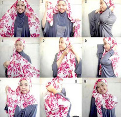 tutorial hijab ala zaskia sungkar 8