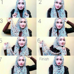 tutorial hijab ala zaskia sungkar 9