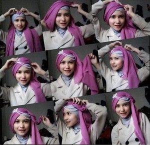 Tutorial Hijab Wisuda Wardah 25