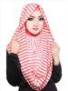 model hijab wajah bulat 24