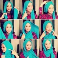 tutorial hijab kekinian instagram 6