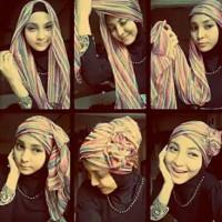 tutorial hijab kekinian instagram 8