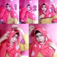 tutorial hijab kekinian instagram 17
